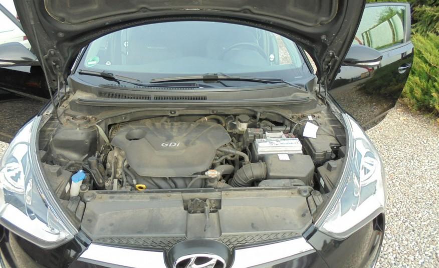 Hyundai Veloster Bezwypadkowy, opłacony , silnik 1.6 -benzyna-piękny kolor, serwis, AUTOMAT zdjęcie 38