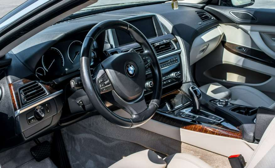 BMW 640 3.0_diesel_312 KM_komplet kół_FV23% zdjęcie 12
