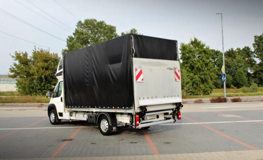Peugeot Boxer Plandeka 8eu palet / 163km / Winda BAR 750KG zdjęcie 1