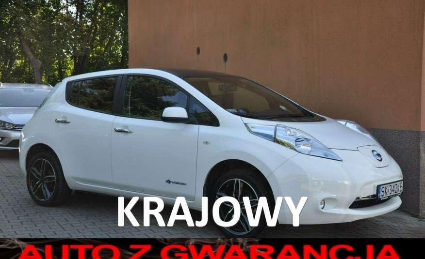 Nissan Leaf Krajówka z pełną dokumentacją GWARANCJA 12m zdjęcie 1