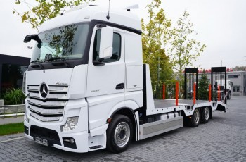 Mercedes Actros 2542 , E6 , 6X2 , Low Deck MEGA , Nowa zabudowa 2021