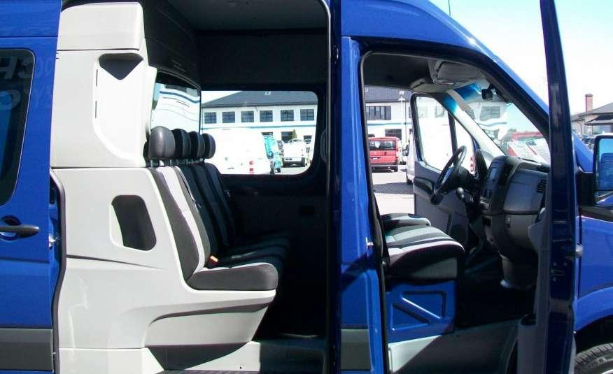 Volkswagen Crafter 2.0BITDI 164KM A/C 7 OS BLIŹNIAKI NA KAT B NAVIGACJA NR 58 zdjęcie 14