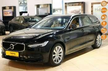 Volvo V90 T5 Momentum aut + Pakiety, Gwarancja x 5, salon PL, fv VAT 23