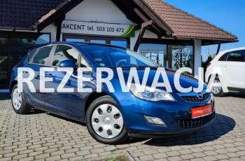 Opel Astra Bezwypadkowa z niskim 103 t.km przebiegiem + 1600cm - 116KM