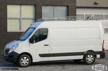 Renault Master L2H2 ŚREDNI 130 KM BAGAŻNIK DACHOWY + REGAŁY + HAK