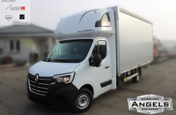 Renault Master 10ep PLANDEKA FIRANKA + KABINA SYPIALNA Międzynarodówka NOWY MODEL