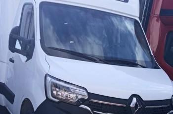 Renault Master 8ep Kabina tylna SPOJTRACK Międzynarodówka NOWY MODEL Plandeka Firanka